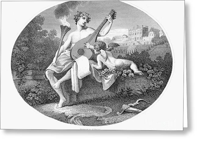 Hymen And Cupid Greeting Card by Granger