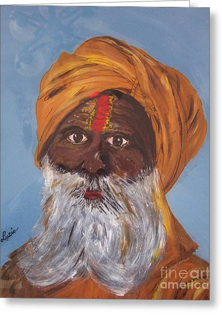 I Am A Sikh Greeting Card