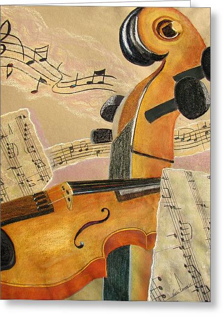 I Can Hear Music Greeting Card