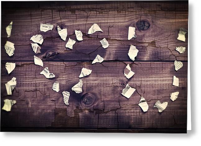 I Love You Greeting Card by Joana Kruse