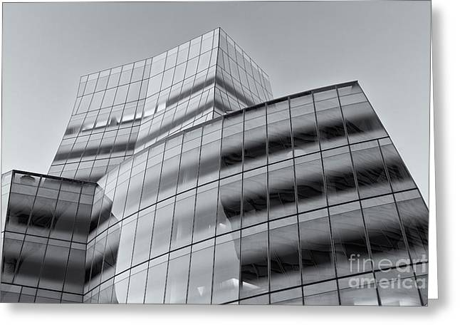 Iac Building Iv Greeting Card by Clarence Holmes