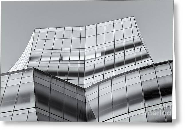 Iac Building V Greeting Card by Clarence Holmes