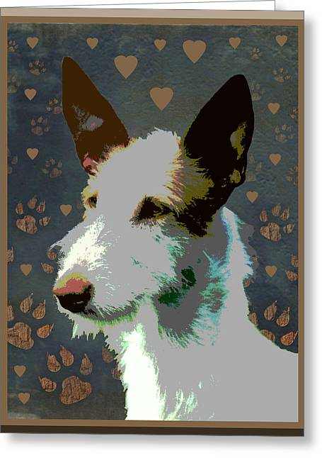 Ibizan Hound Greeting Card by One Rude Dawg Orcutt