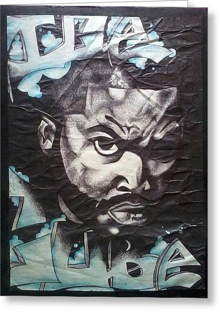 Ice Cube Greeting Card by Abby Williams