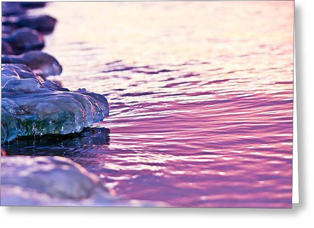 Ice On The Lake Greeting Card