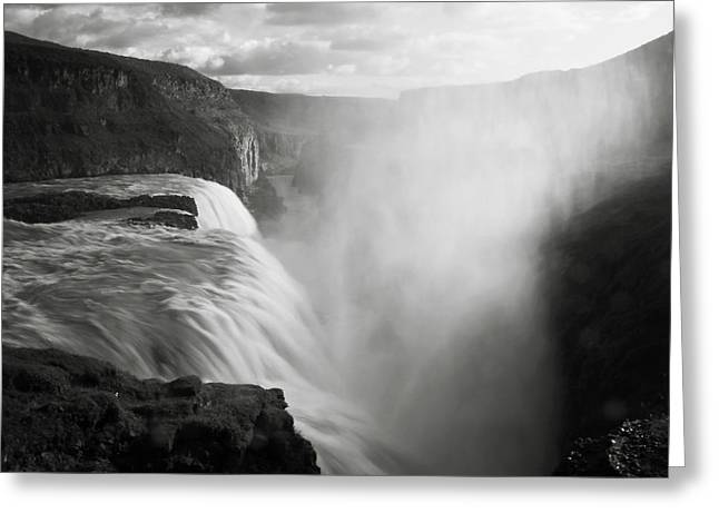 Iceland Gullfoss Greeting Card