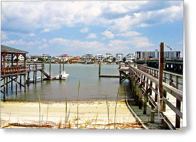 Icw Wrightsville Beach  Greeting Card