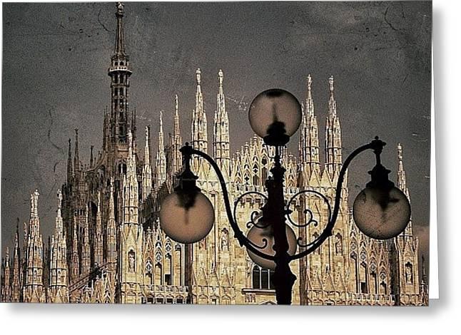 Il Duomo Di Milano - Milano Greeting Card