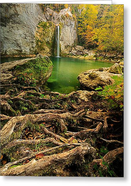 Ilica Waterfall Greeting Card