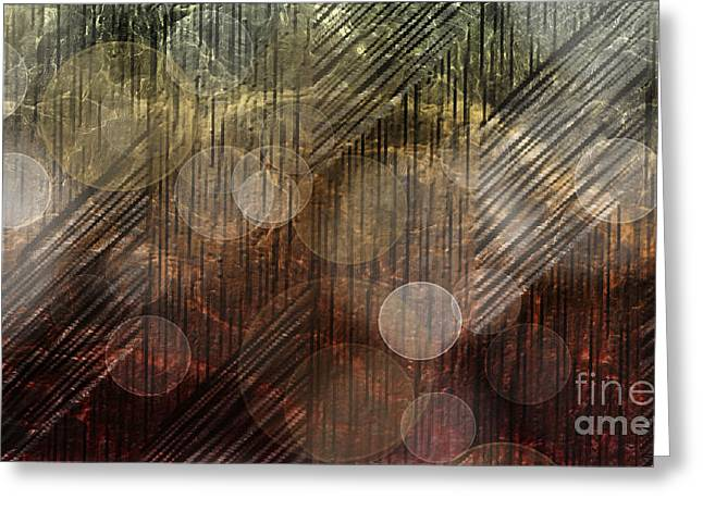 Illuminating Reflections Greeting Card by Christine Mayfield