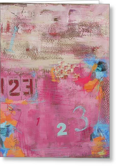 I'm Counting To 3 Greeting Card by MaryAnn Ceballos