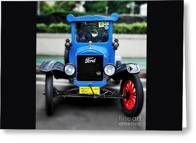 I'm Cute - 1922 Model T Ford Greeting Card