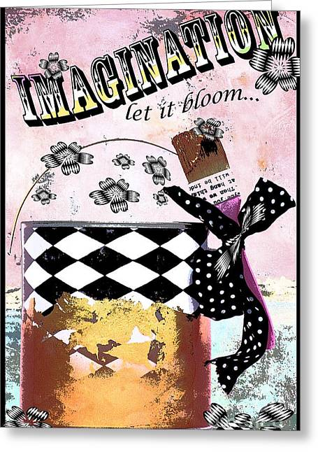 Imagination Greeting Card by Anahi DeCanio