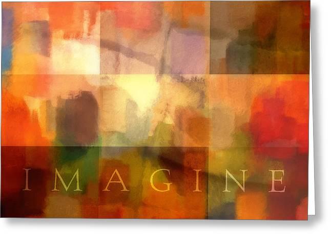 Imagine Greeting Card by Lutz Baar