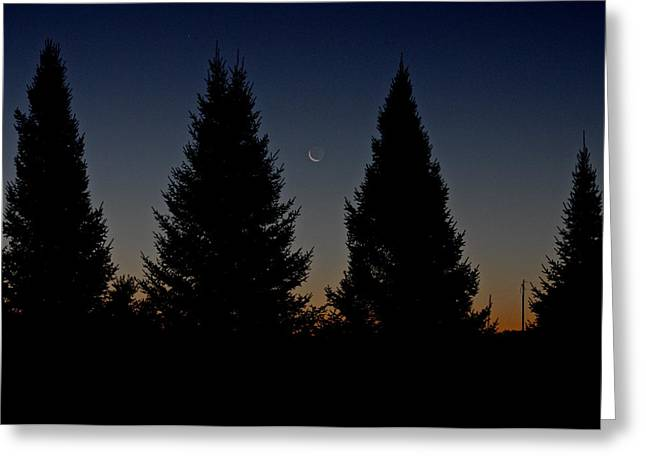 Greeting Card featuring the photograph Impending Sunrise by Penny Meyers