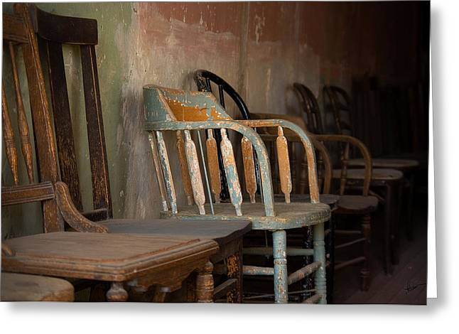 Greeting Card featuring the photograph In Another Life - Another Time by Vicki Pelham