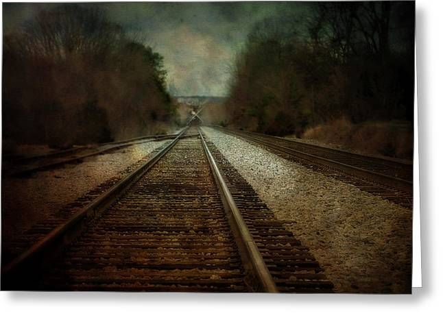 In The Distance Greeting Card by Kathy Jennings