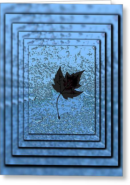 In The Eye Of The Storm Greeting Card by Tim Allen