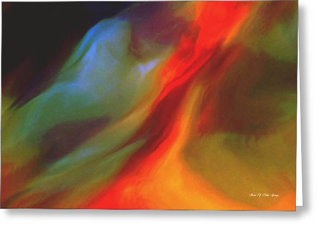 In The Heat Of The Night Greeting Card by Sherri's Of Palm Springs