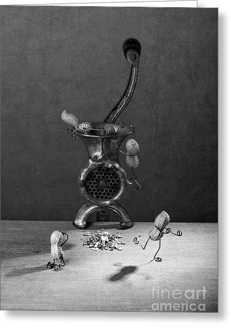 In The Meat Grinder 02 Greeting Card by Nailia Schwarz