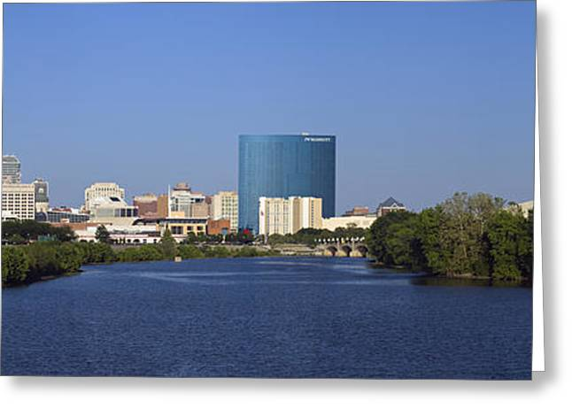 Indianapolis - D007990 Greeting Card by Daniel Dempster