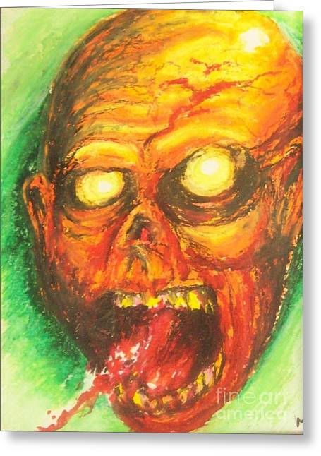 Infection Greeting Card by Matt Detmer