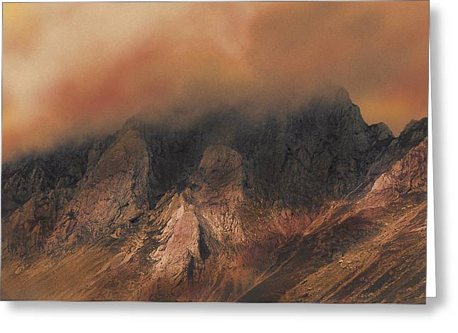 Greeting Card featuring the photograph Inferno by Jacqi Elmslie