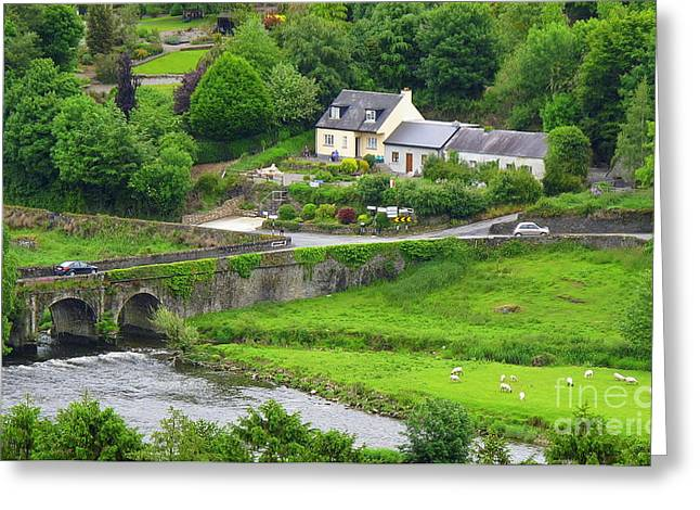 Inistioge In Ireland Greeting Card by Ranjini Kandasamy