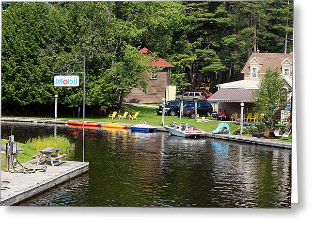 Inlet On Seven Lakes Greeting Card by Ann Murphy