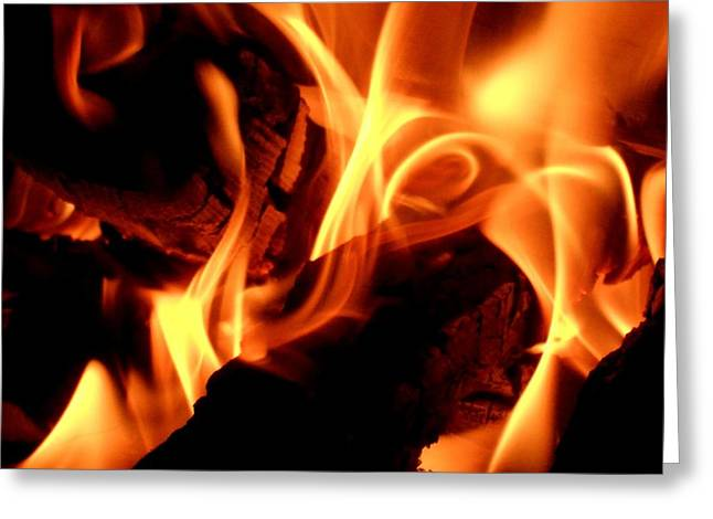 Inner Fire Greeting Card