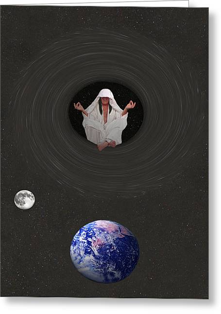 Inner Self Greeting Card by Eric Kempson