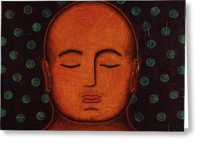 Inner Visions Greeting Card by Gloria Rothrock