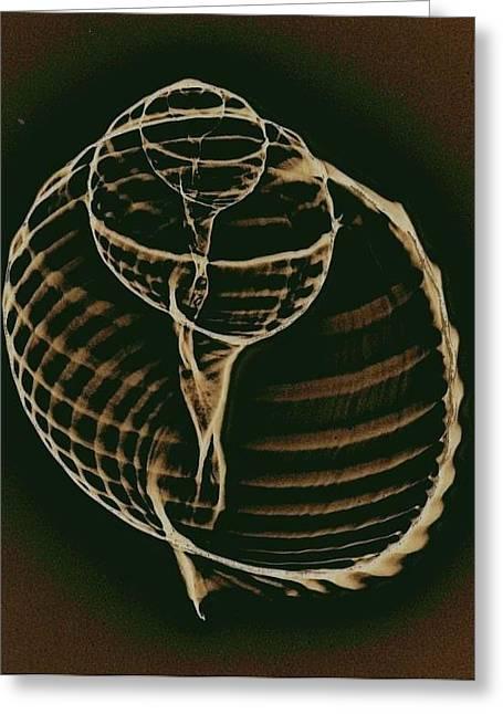 Inner Worlds Greeting Card by Sara Koenig King