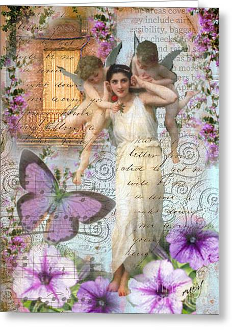 Innocence Of 1890 Greeting Card