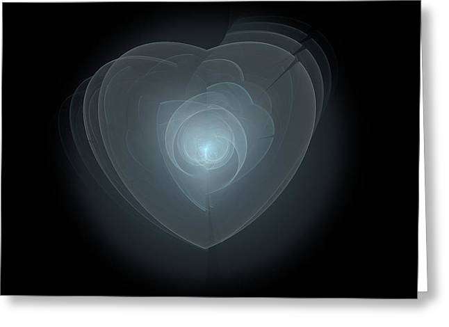Inside A Scorned Heart Greeting Card by Pennie Gibson