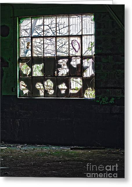 Inside Out Greeting Card by Gordon Wood