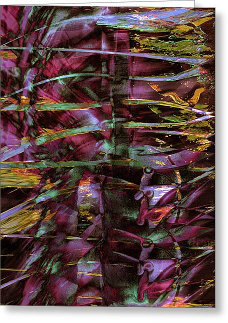 Inside Out Greeting Card by Linda Sannuti