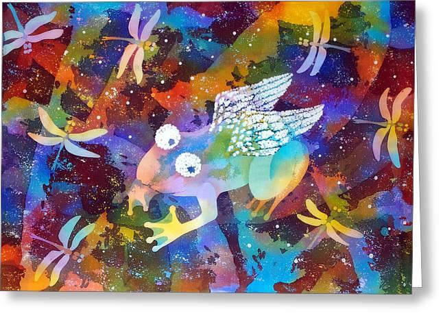 Inspiration Greeting Card by Kate Krivoshey