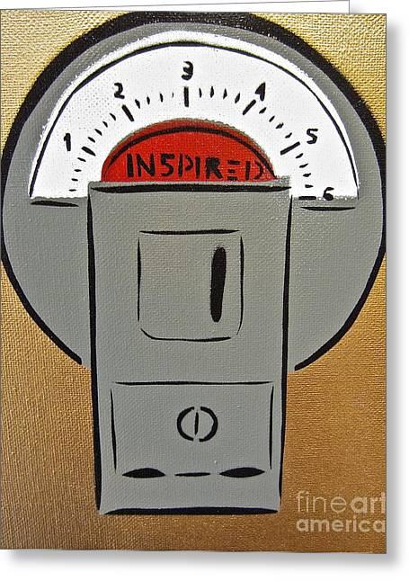 Inspired Meter Greeting Card