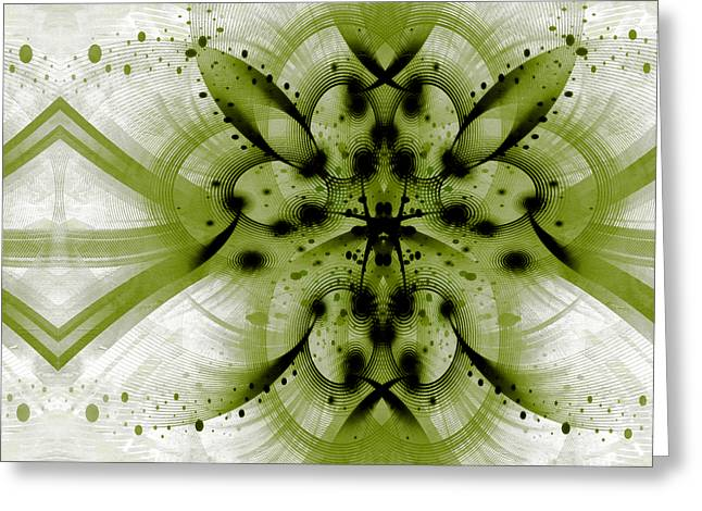 Intelligent Design 3 Greeting Card by Angelina Vick