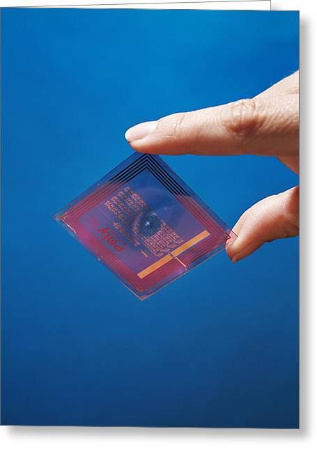 Intelligent Label Chip Greeting Card