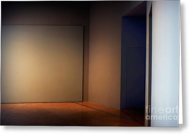 Interior Corner Greeting Card by Susan Isakson