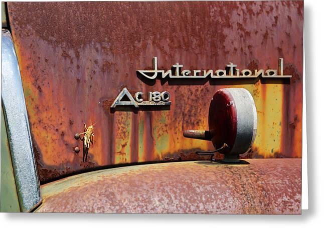 International Ac 180 Greeting Card by Lisa Moore