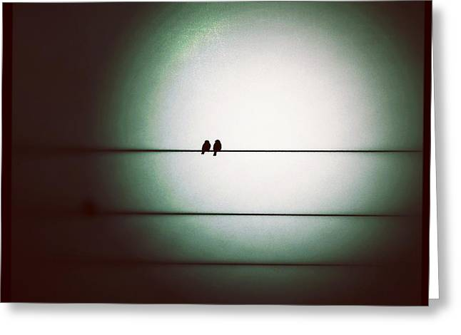 Into The Light - Instagram Photo Greeting Card