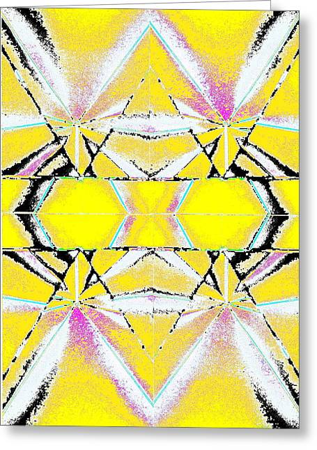 Into The Sky Yellow Greeting Card by Steven A Bash