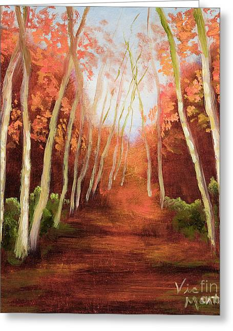 Into The Woods-series Greeting Card