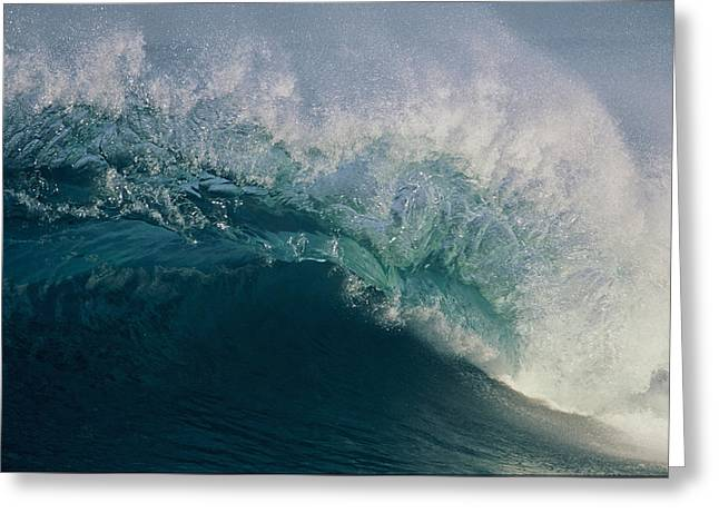 Intricacy In A Wave's Lip Greeting Card