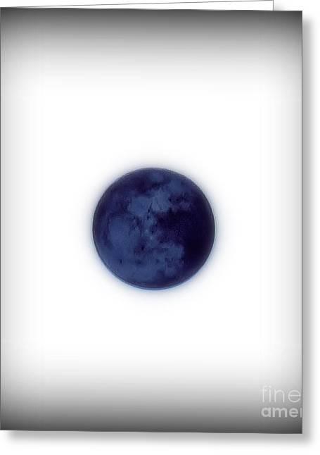 Inverted Moon Greeting Card by Elizabeth Hernandez