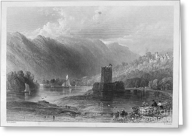 Ireland: Castle, C1840 Greeting Card