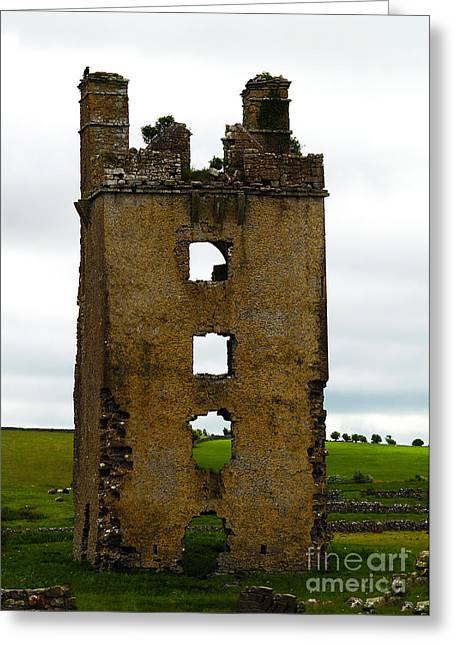 Ireland- Castle Ruins II Greeting Card